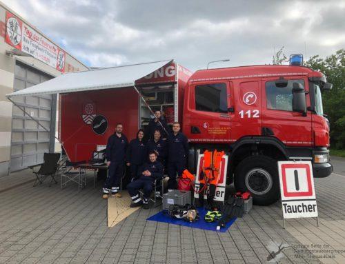 Fahrzeugausstellung bei der Feuerwehr Flörsheim